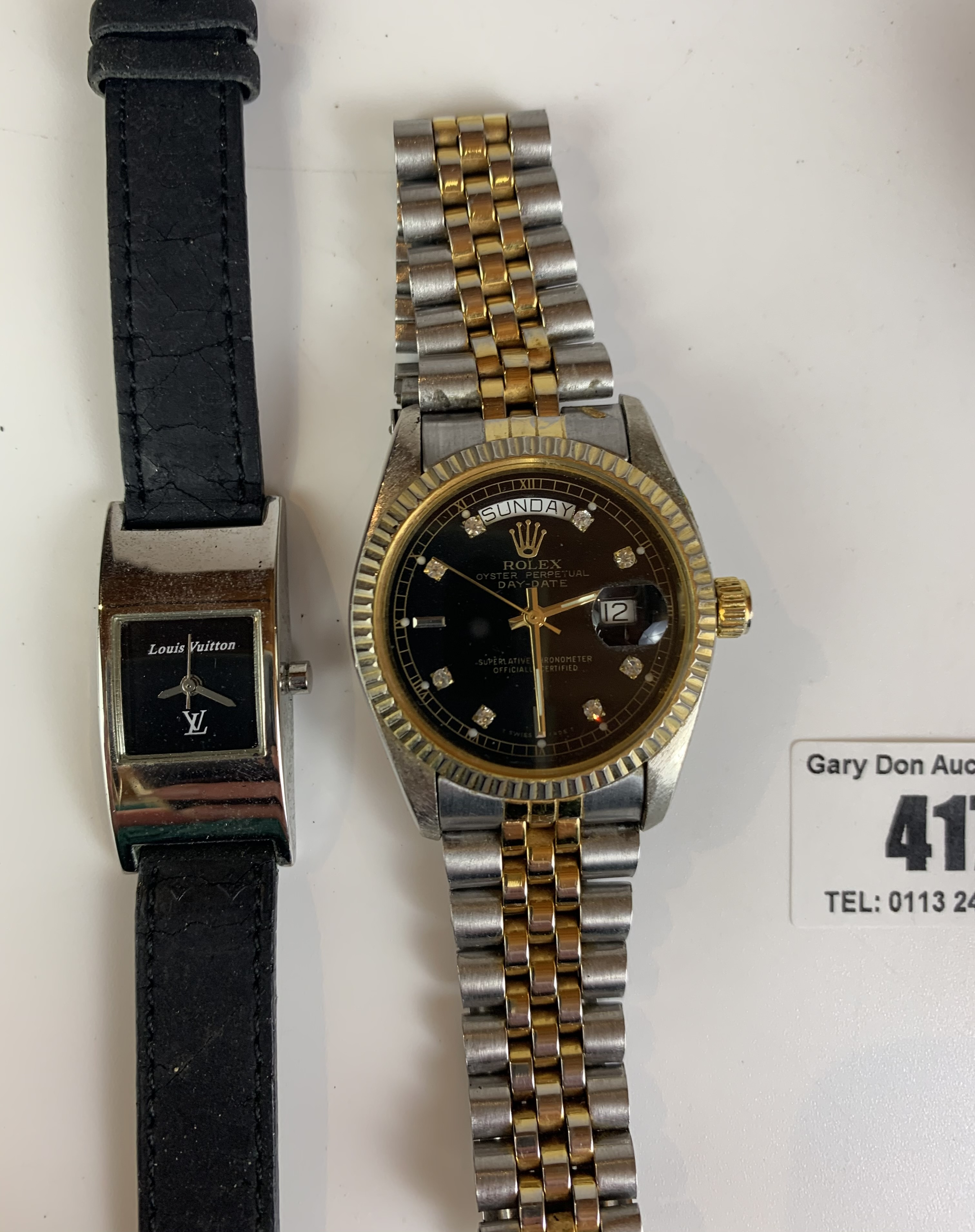 4 dress watches - Image 2 of 8