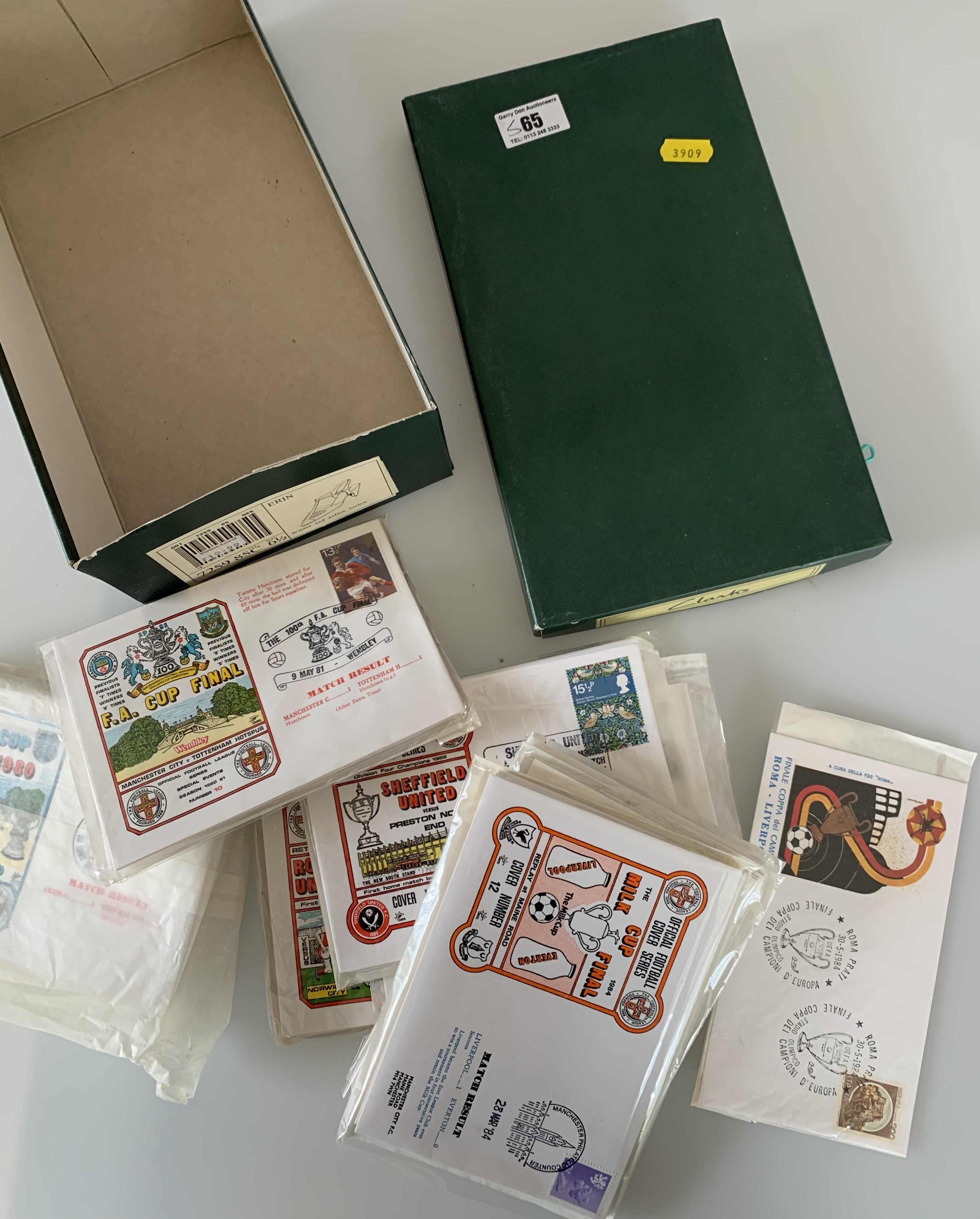 Shoebox of First Day Covers including RAF - Image 3 of 4
