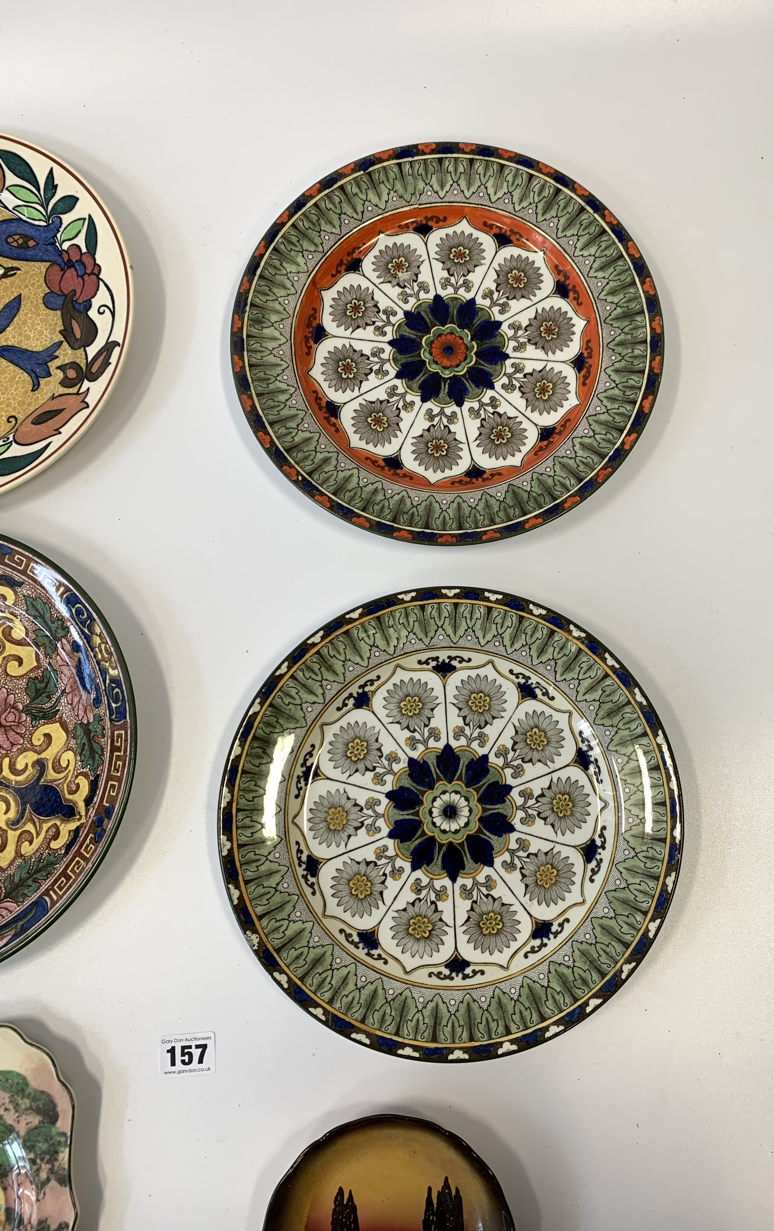 "4 Royal Doulton plates, 10.5"" diameter, shaped Royal Doulton plate 9"" diameter and Royal Doulton - Image 3 of 8"