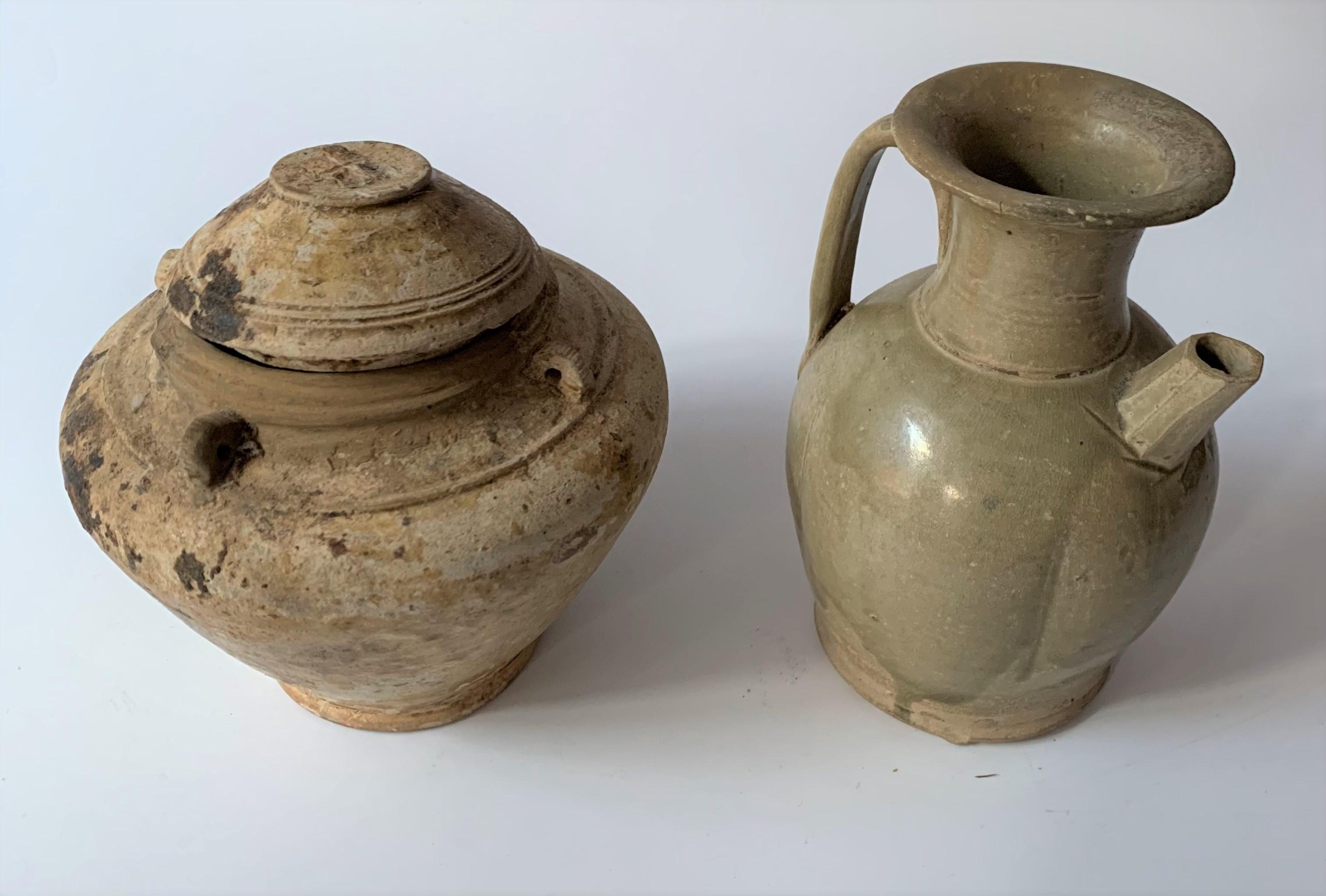 4 stoneware vases - Image 5 of 7