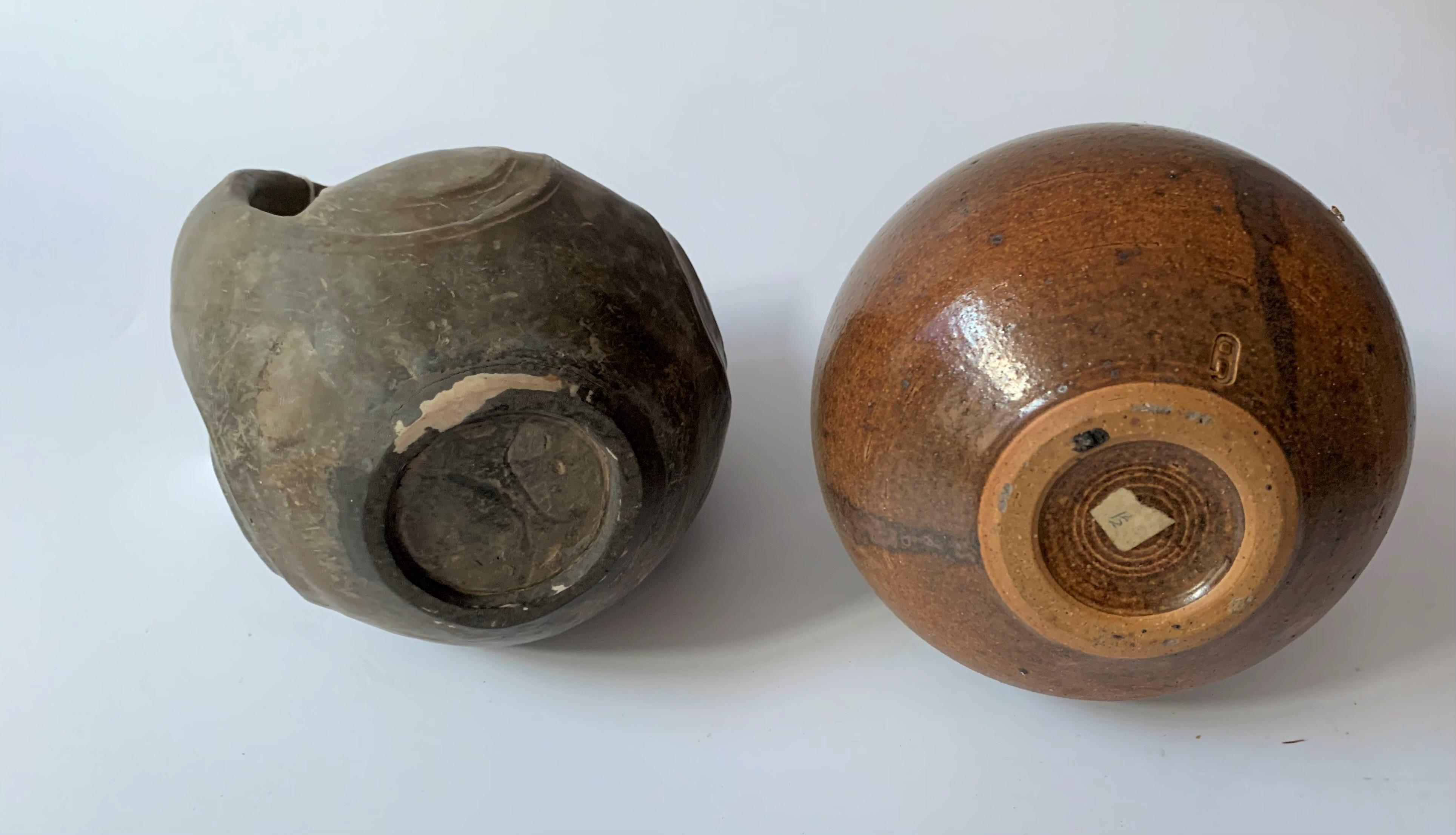 4 stoneware vases - Image 4 of 7