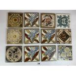 "12 ceramic tiles 6"" x 6"""