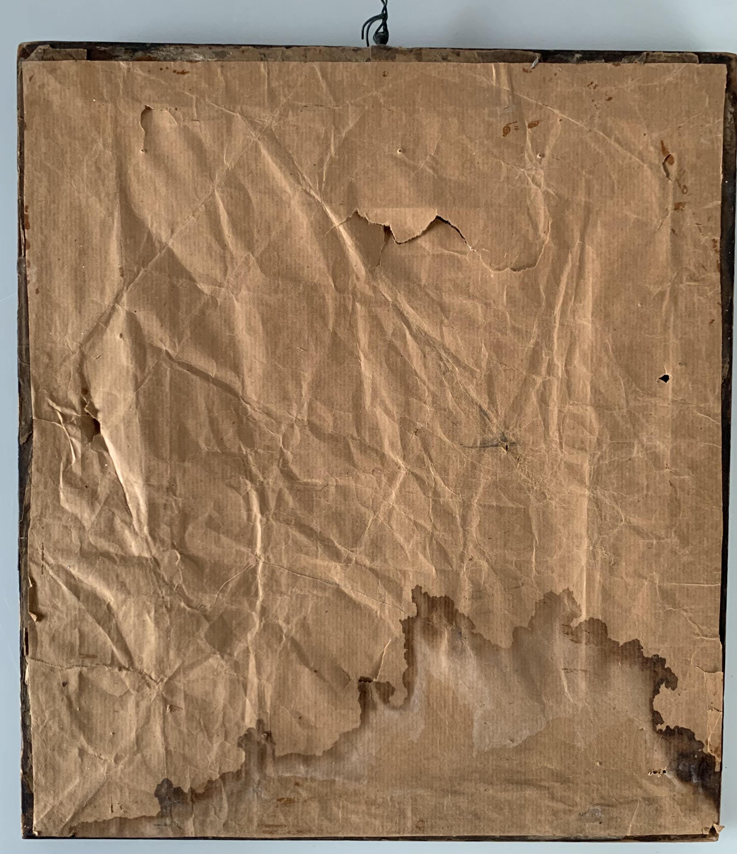 """Sampler by Elizabeth Woods, age 12, 1840. 10.5"""" x 12"""", frame 14"""" x 15.5"""" - Image 2 of 2"""