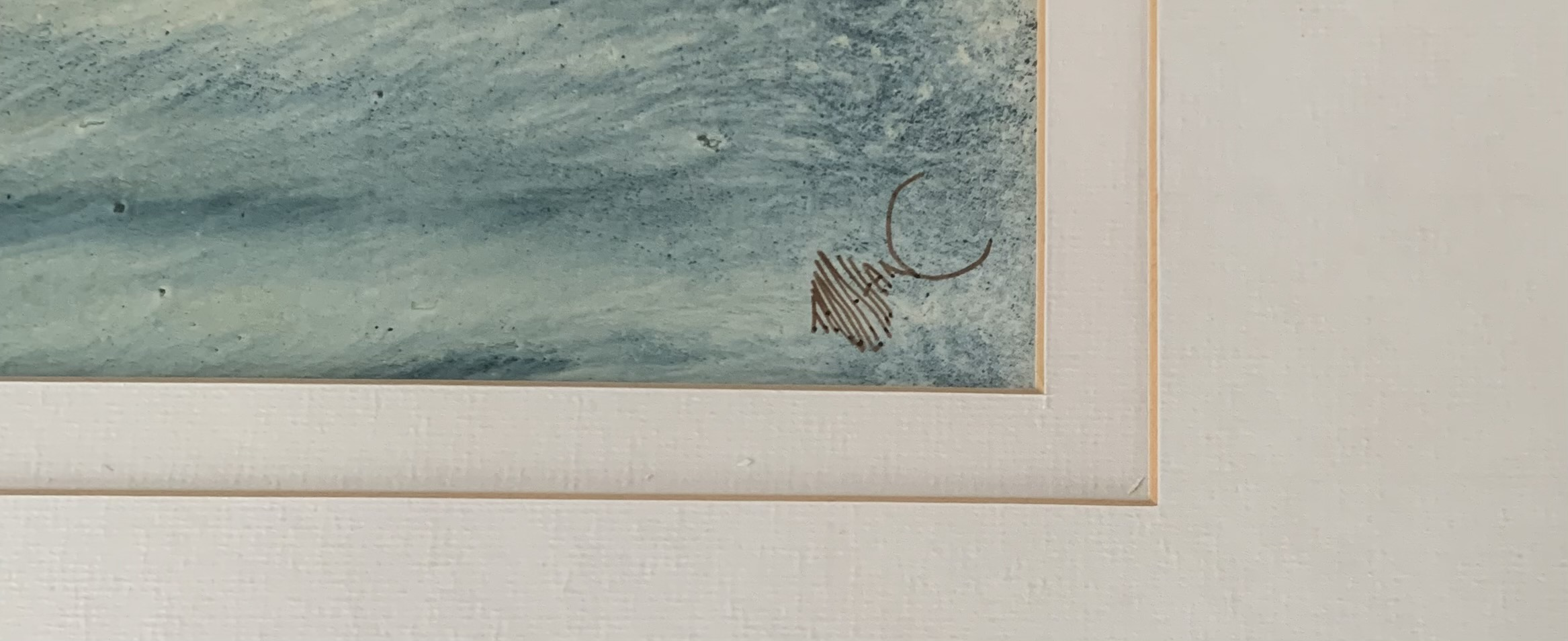 """Pair of watercolours """"Donegal Coast II"""" and """"Donegal Coast III"""" by Tony Holahan. Images 12"""" x 5. - Image 5 of 6"""