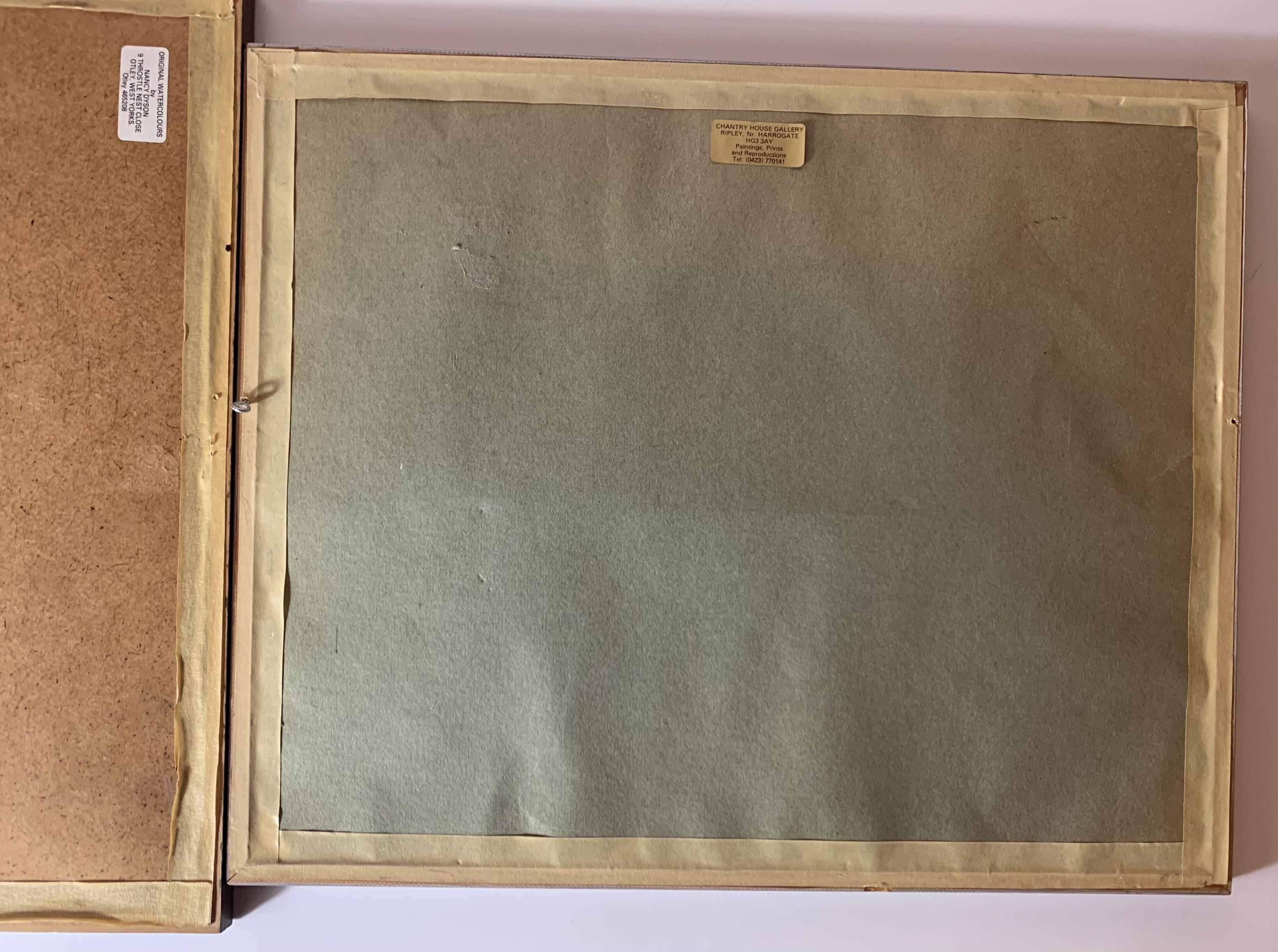 "2 Watercolours - landscape by Ebenezer John Woods Prior. Image 10.5"" x 8"", frame 17"" x 14"". - Image 7 of 7"
