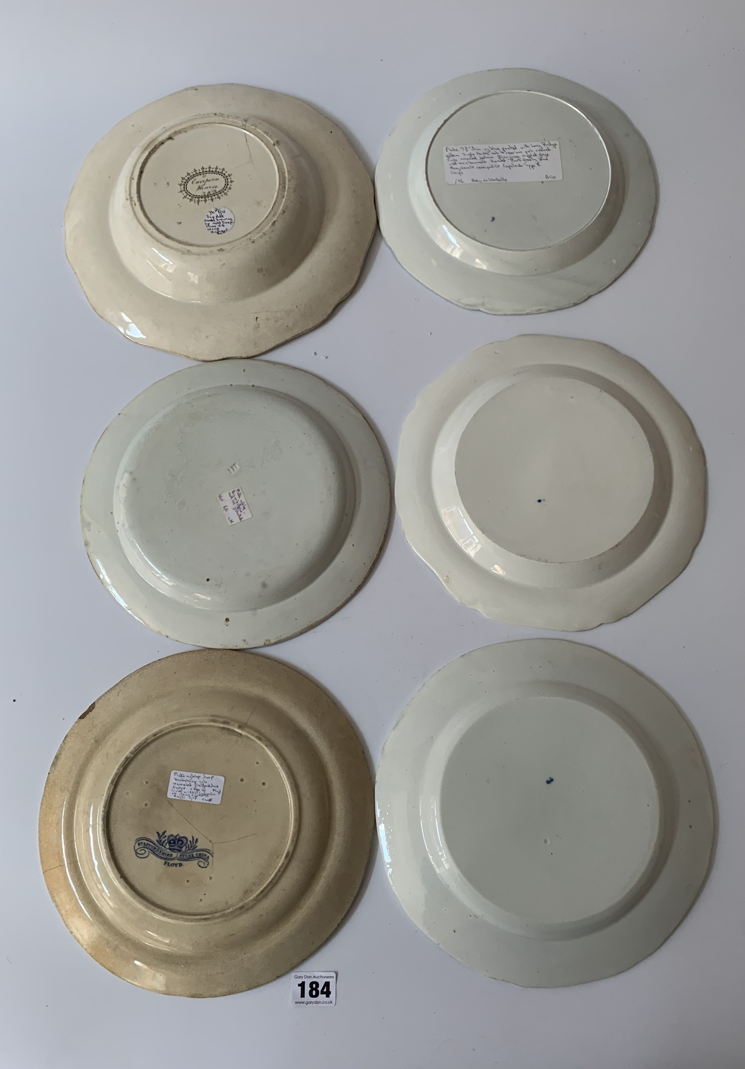 """16 assorted plates and dishes 8"""" – 11"""" diameter - Image 3 of 7"""