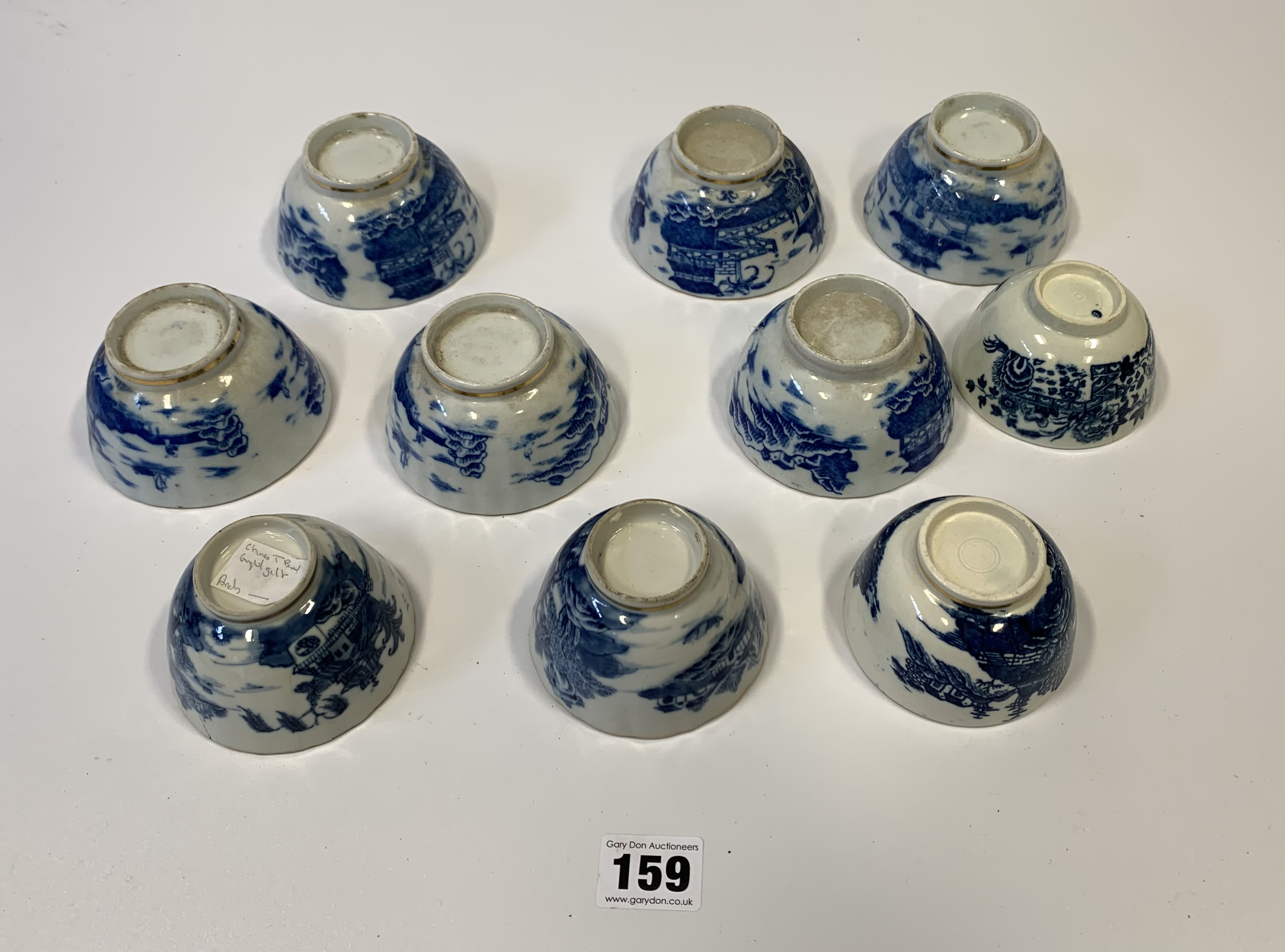 10 assorted blue/white cups - Image 7 of 7