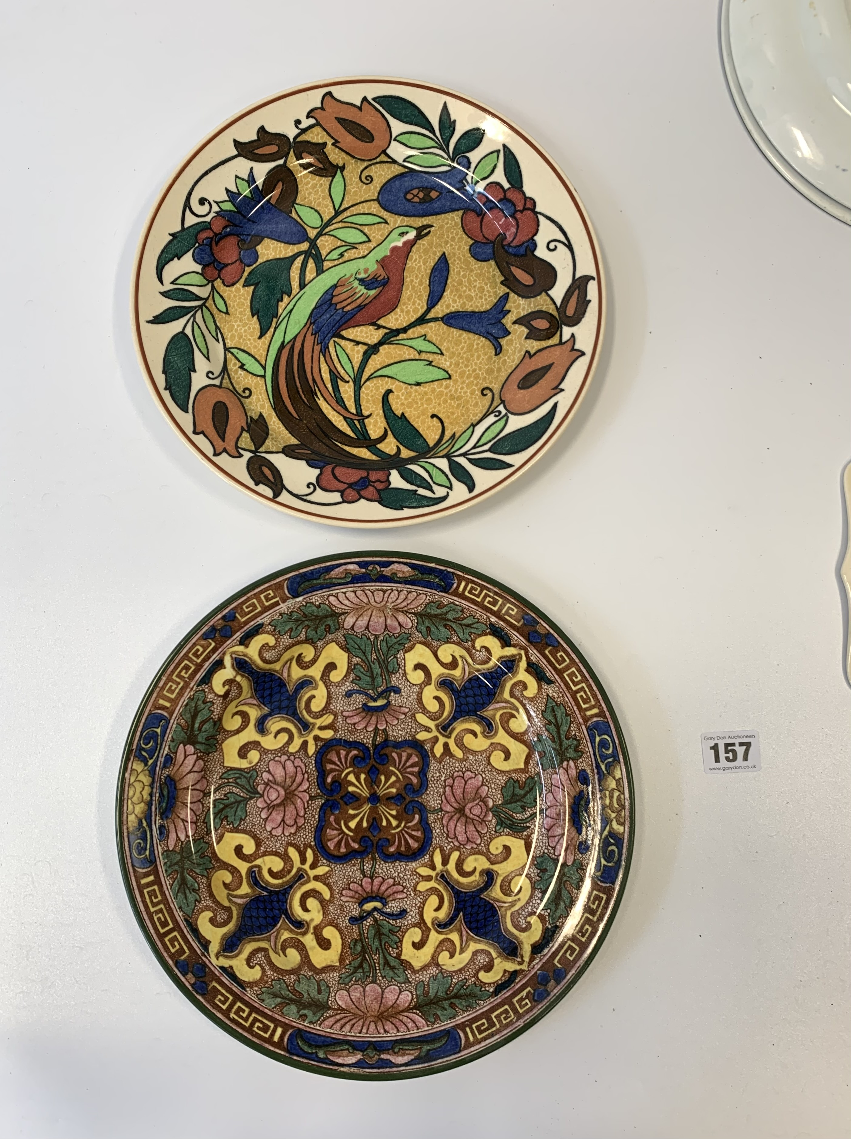 "4 Royal Doulton plates, 10.5"" diameter, shaped Royal Doulton plate 9"" diameter and Royal Doulton - Image 7 of 8"