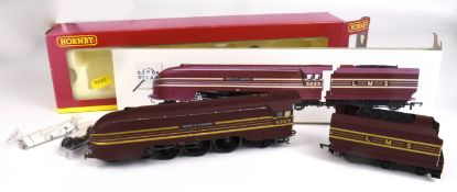 Boxed Hornby R2179 LMS 4-6-2 Coronation Class locomotive '6225 Duchess of Gloucester' and tender