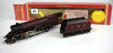 Boxed Hornby Railways LMS Princess Class 'Lady Patricia 6210' locomotive and tender