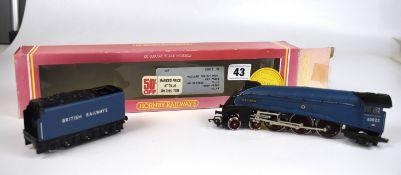 Boxed Hornby R9812 01 Mallard locomotive and tender 60022