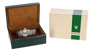 Rolex Oyster Speedking Precision mid-size stainless steel bracelet watch, ref. 6430, serial no.