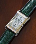 Rare and fine Rolex Prince Brancard 'tiger stripe' 18ct bicolour flared gentleman's wristwatch, ref.