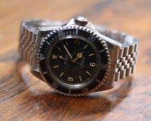 Rare Rolex Oyster Perpetual Submariner stainless steel gentleman's bracelet watch with the 3-6-9 '