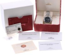 Omega Seamaster Professional Chronometer Diver 300m chronograph automatic stainless steel