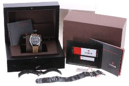 Tudor Genéve Heritage Black Bay 36 Rotor Self-Winding stainless steel gentleman's wristwatch, ref.