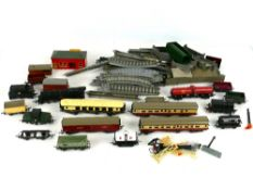 Tria-ang railway - three locos, carriages, track etc