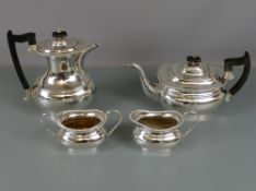 Viners four-piece silver plated tea set