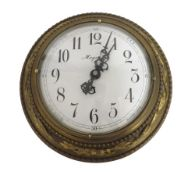 """Magneta slave dial with one minute alternating polarity, the 6.5"""" white dial within an ornate"""