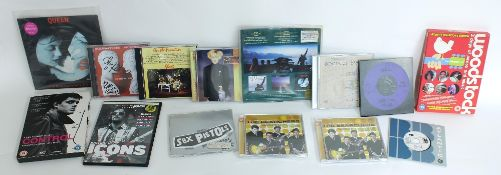 Artists various - interesting selection of signed CDs and others to include an autographed copy of