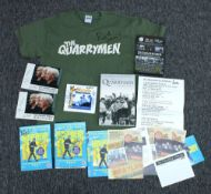 The Quarrymen (Beatles interest) - selection of autographed Quarrymen ephemera to include Hunter