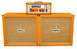 1970s Orange Amplification Model OR120 guitar amplifier head, made in England, ser. no. 120252;