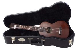 Collings UC1 all mahogany concert ukulele, made in USA, within original hard case