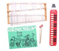 Hohner Melodica-alto, cased; also a child's xylophone (2)