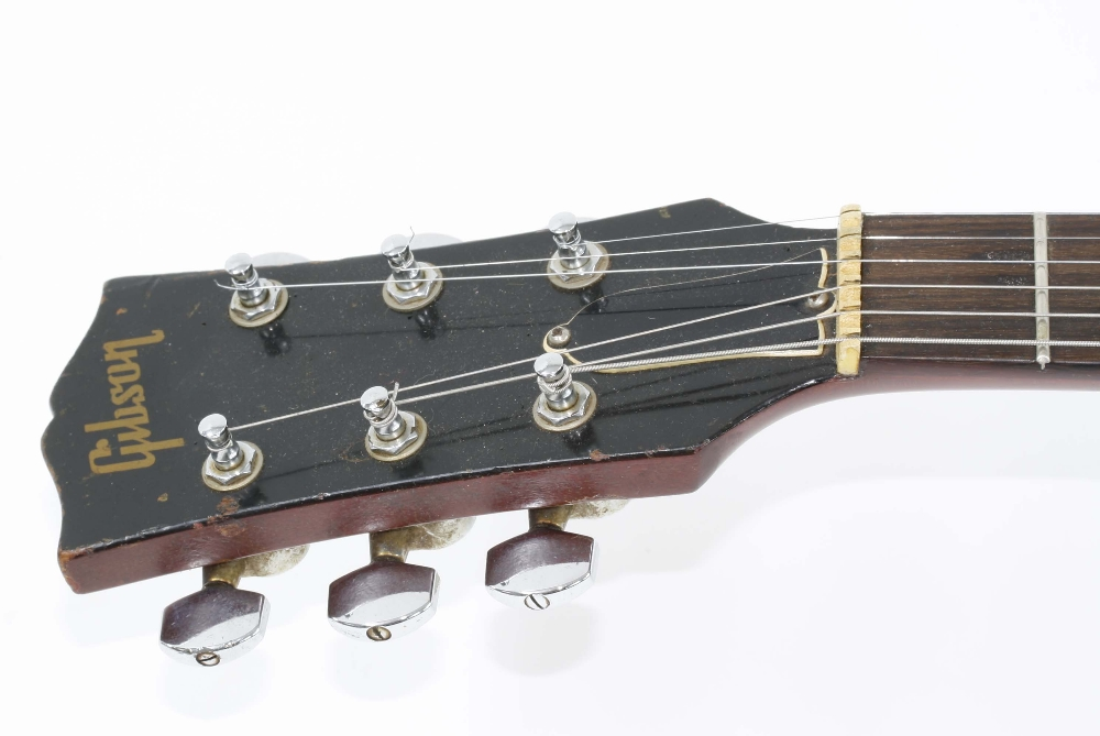 1966 Gibson ES-125 TDC electric guitar, made in USA, ser. no. 4xxxx9; Finish: sunburst, lightly - Image 4 of 13