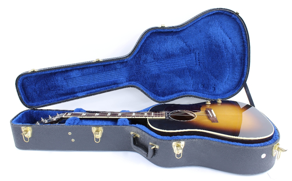 2010 Gibson J-160E electro-acoustic guitar, made in USA, ser. no. 1xxx0xx7; Finish: vintage - Image 3 of 5