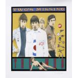 The Who - 'Two's Missing' signed limited edition silk screen print by Richard Evans, signed and