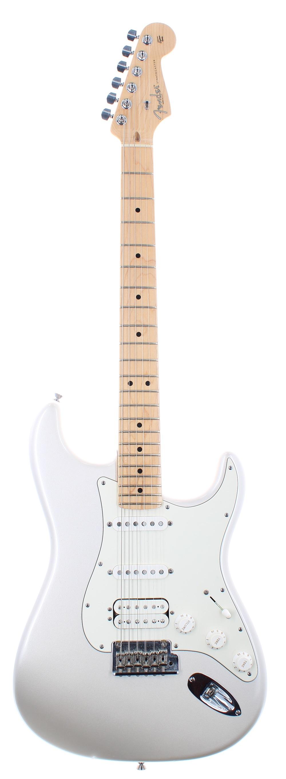2009 Fender American Standard HSS Stratocaster electric guitar, made in USA, ser. no. Z9xxxxx5;