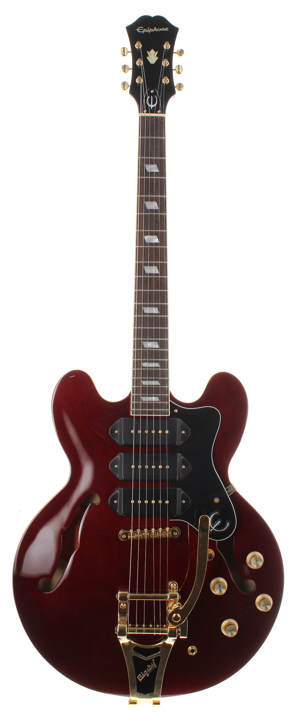 2017 Epiphone Limited Edition Riviera P93 semi-hollow body electric guitar, made in China, ser.