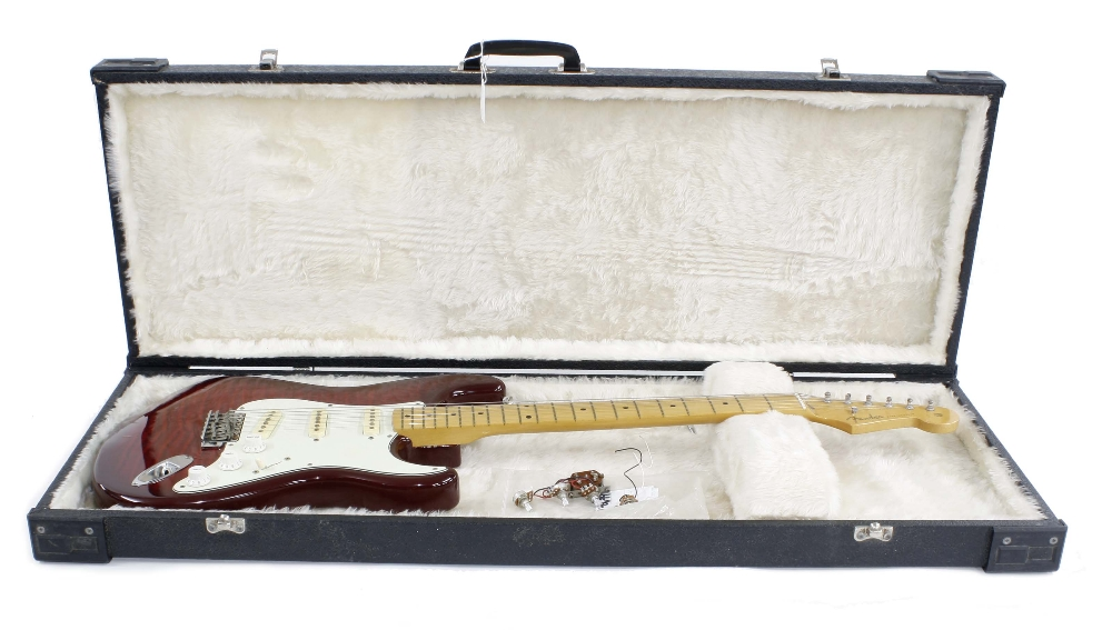 Fender Foto Flame Stratocaster electric guitar, made in Japan (1993-1994), ser. no. Q0xxxx3; Finish: - Image 3 of 3