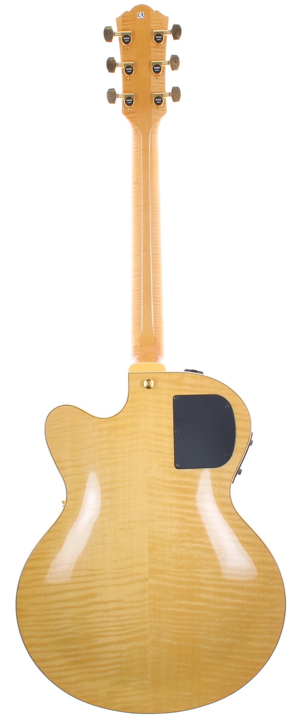 1999 Yamaha AEX1500 hollow body electric guitar, made in Japan, ser. no. 9xxxxx8; Finish: natural; - Image 2 of 2