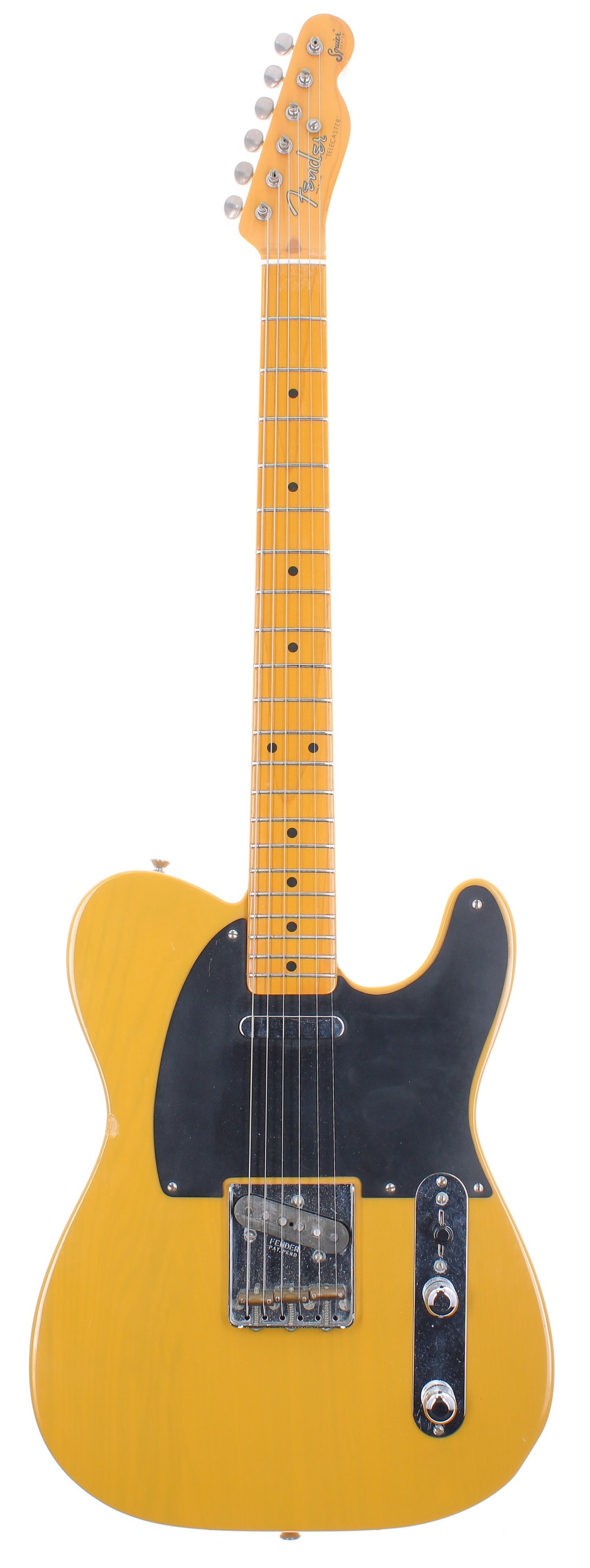 1982 Fender Squier Series '52 Telecaster electric guitar, made in Japan, ser. no. JVxxxx4; Finish: