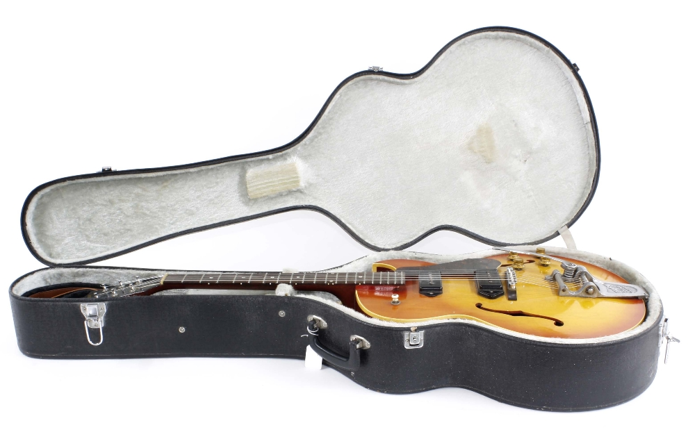 1966 Gibson ES-125 TDC electric guitar, made in USA, ser. no. 4xxxx9; Finish: sunburst, lightly - Image 3 of 13