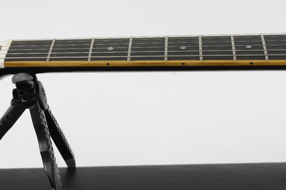 1984 Andy Manson Dove archtop guitar, made in Crowbrough, Sussex, England; Finish: sunburst, small - Image 5 of 11