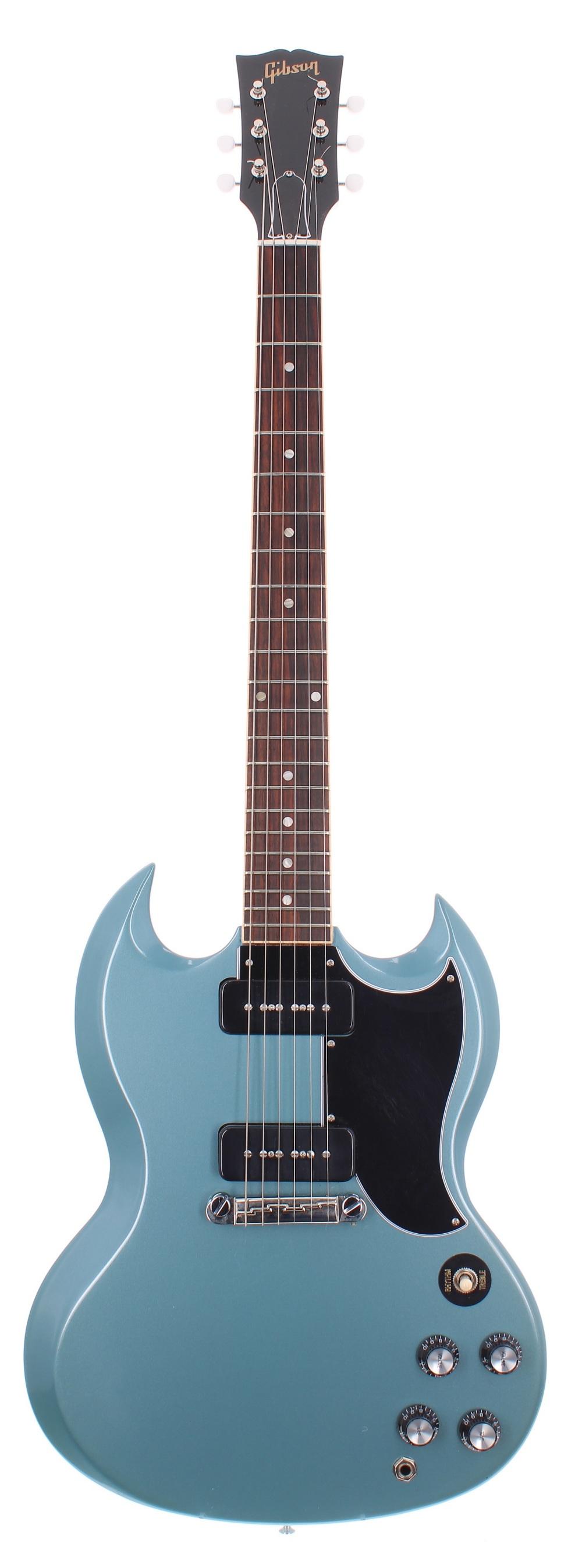 2019 Gibson SG Special electric guitar, made in USA, ser. no. 1xxx9xxx4; Finish: Pelham blue;