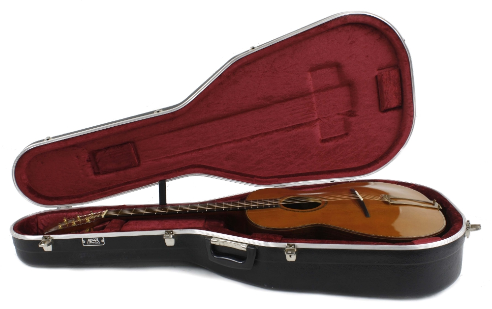 1980s Stefan Sobell archtop acoustic guitar, made in England; Back and sides: east Indian - Image 3 of 3