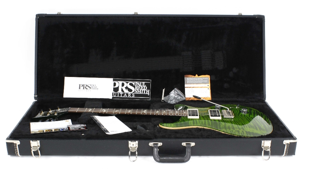 2013 Paul Reed Smith (PRS) Custom 24 electric guitar, made in USA, ser. no. 13xxxxx2; Finish: jade - Image 3 of 3