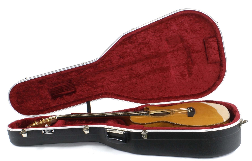 Fylde Alchemist electro-acoustic guitar, made in England, ser. no. 6xx4; Back and sides: English - Image 3 of 3
