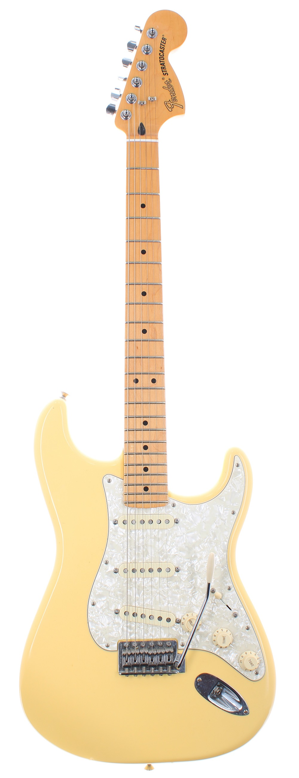 2014 Fender Deluxe Roadhouse Stratocaster electric guitar, made in Mexico, ser. no. MX14xxxxx7;