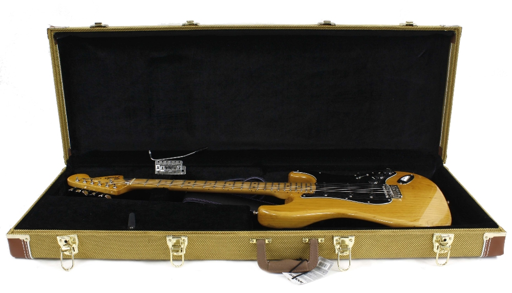 1979 Fender Stratocaster electric guitar, made in USA, ser. no. S9xxxx9; Finish: natural, minor - Image 3 of 3