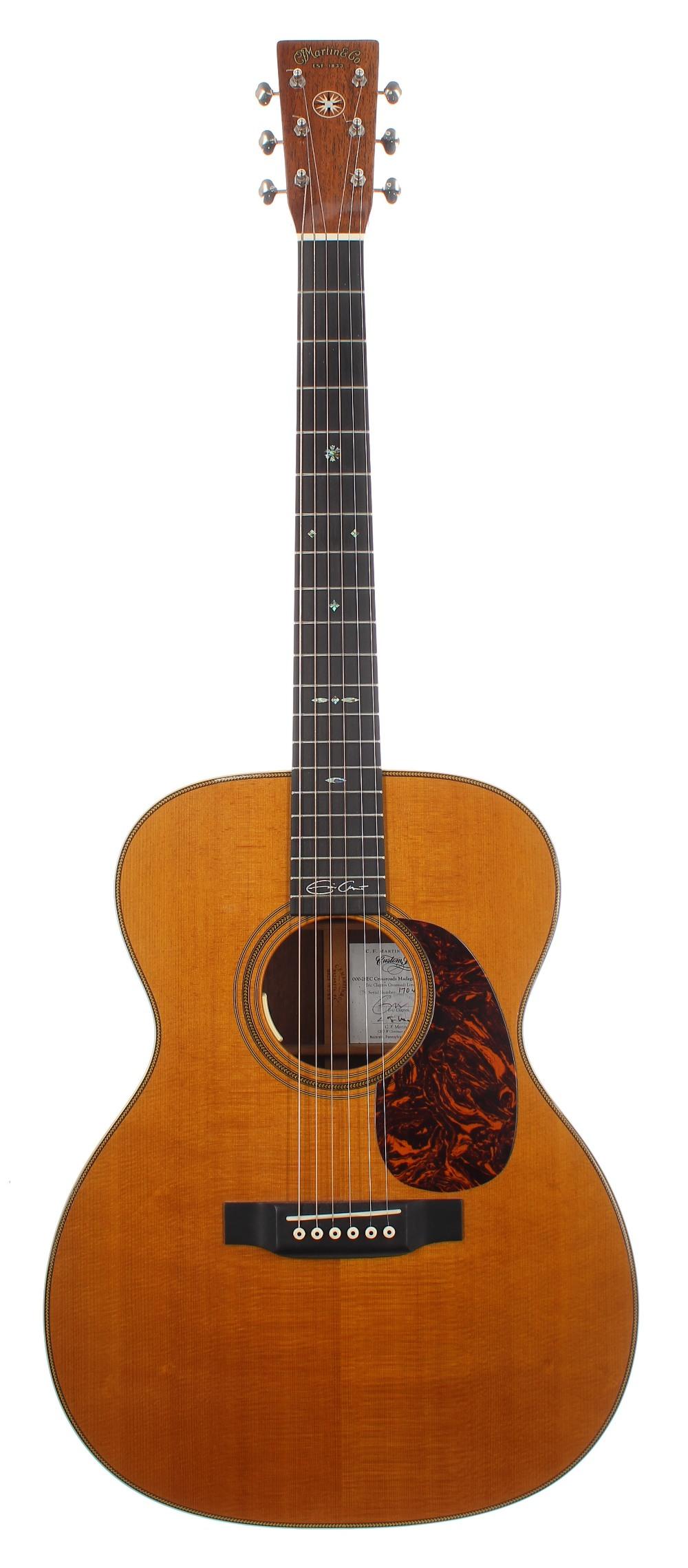 2013 C.F. Martin & Co Custom Shop Eric Clapton Crossroads limited edition 000-28EC Crossroads