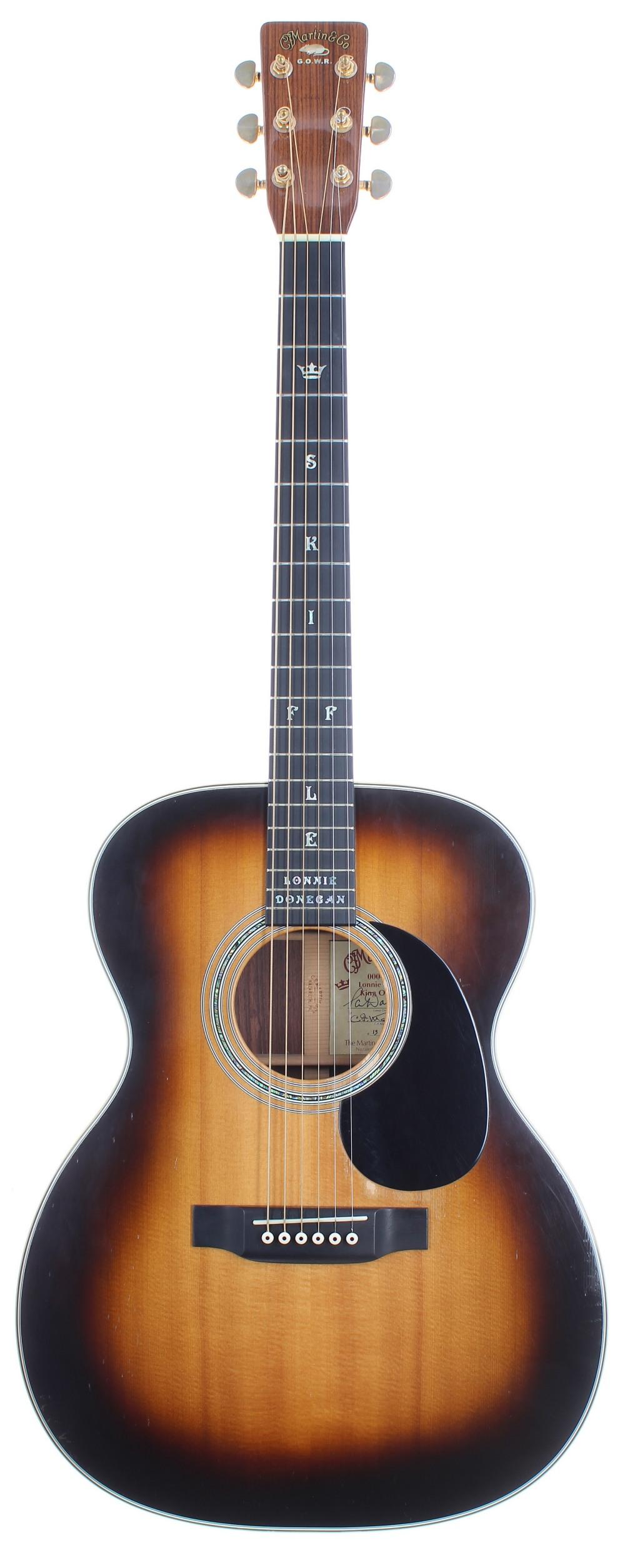 Peter Donegan - Rare 2002 C.F. Martin & Co 000-28LD (Lonnie Donegan signature model) (13-72)