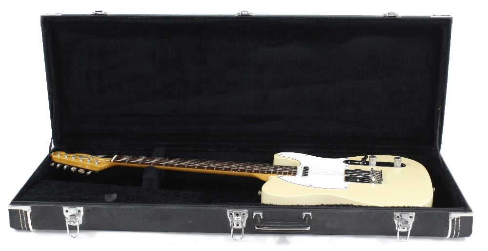 Mid 1980s Tokai Breezysound electric guitar, made in Japan, ser. no. 2xxxx7; Finish: ivory, - Image 3 of 3