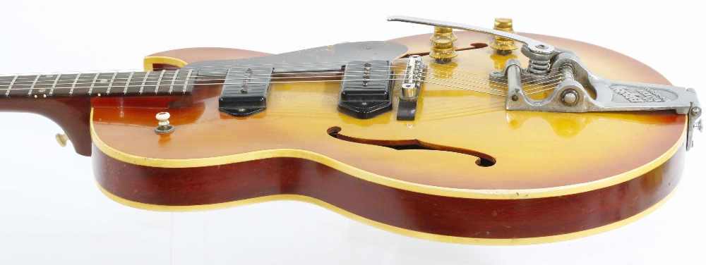 1966 Gibson ES-125 TDC electric guitar, made in USA, ser. no. 4xxxx9; Finish: sunburst, lightly - Image 7 of 13