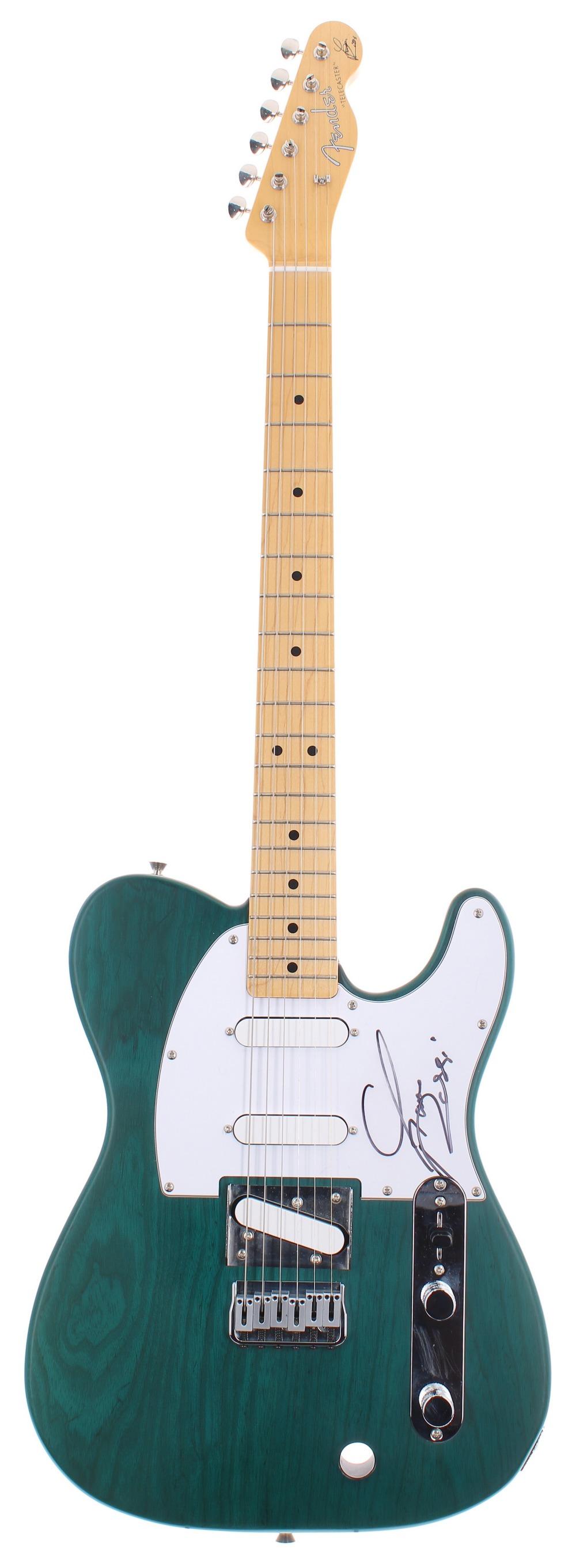 Status Quo - Francis Rossi and Rick Parfitt Signature Edition Fender Telecaster electric guitars, - Image 4 of 6