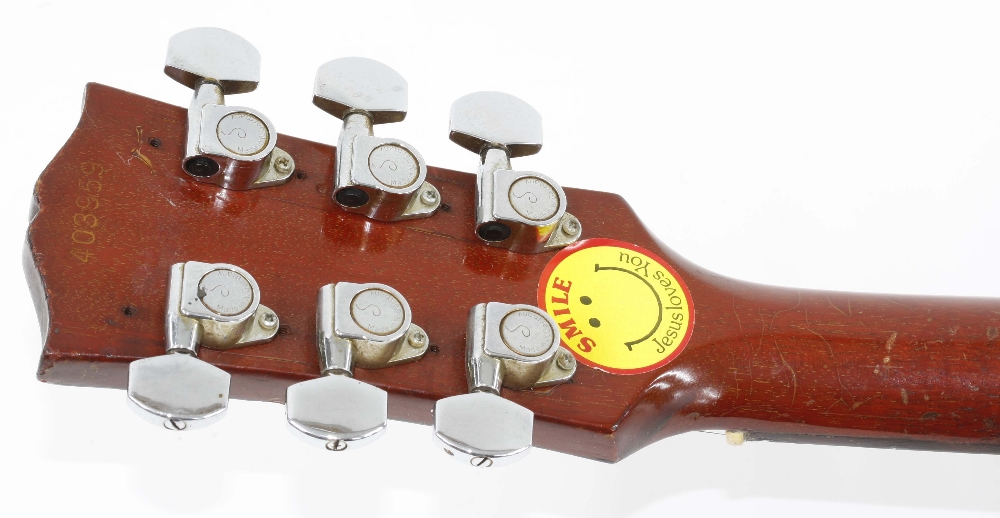 1966 Gibson ES-125 TDC electric guitar, made in USA, ser. no. 4xxxx9; Finish: sunburst, lightly - Image 9 of 13